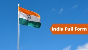 India Full Form
