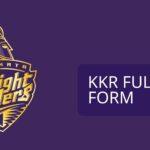 KKR Full Form